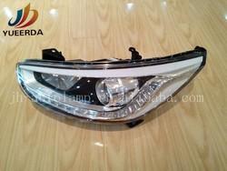 Hyundai Accent 2014 auto led light head lamp
