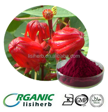 High quality dried Roselle flower extract / Hibiscus extract powder