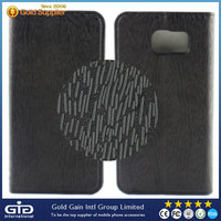 Phone wallet flip leather case cover for samsung s6
