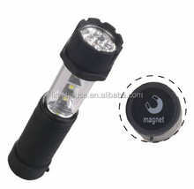 3SMD +5 LED TELESCOPIC FLASHLIGHT/TORCH WITH MAGNET