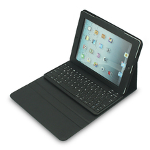 9.7 bluetooth keyboard pu leather case cover for apple ipad air /ipad 5