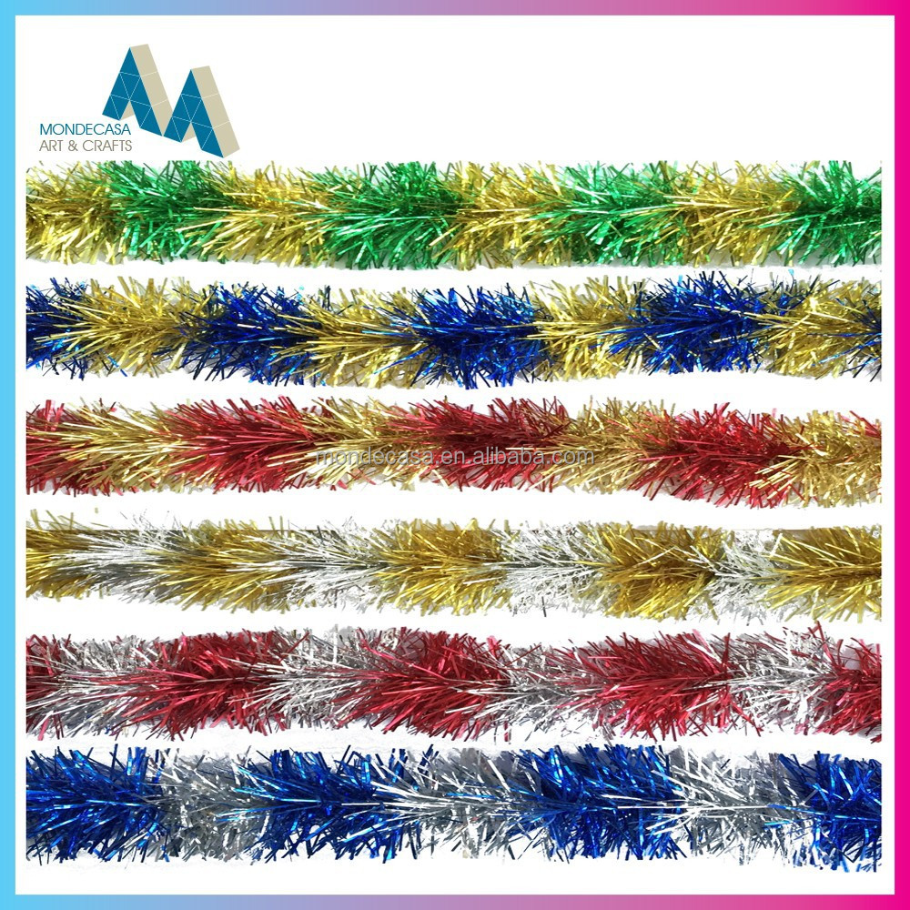 Christmas tinsel garland icicles buy