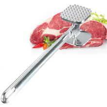 New Arrival Exquisite Simple Meat Mallet Tenderizer Steak Beef Chicken hammer Kitchen Tool Aluminium Metal Useful and Easy