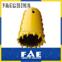bauer foundation drilling machine tungsten carbide auger bits bucket teeth core barrel teeth--FAECHINA