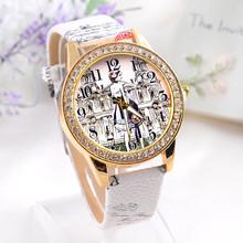 2015 Popular fashion punk beautiful girl wrist watch,rhinestone watches(SWTNSXR970)