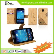 black rock phone case with earphone holder for Samsung Galaxy S4 I9500