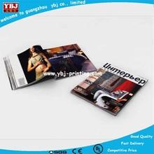 YBJ cheap book printing, magazines,catalog, cooking books printing