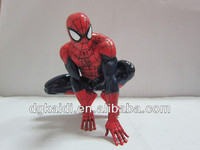 2014 popular PVC spider man plastic toy figure