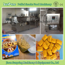 extrusion snacks food processing line/leisure food equipment/jam centered snacks machine