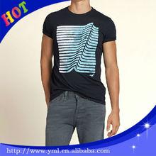 100% Cotton Cheap Men's Custom Printed T-shirt (OEM)