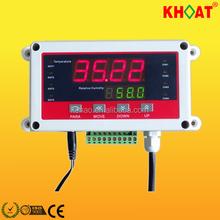 Kh706d Digital Industrial conducto de temperatura y humedad indicador