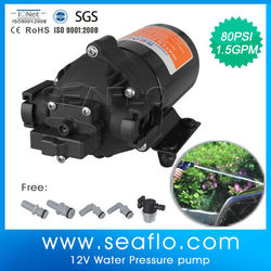 Car Washer Pump SEAFLO 80psi 1.8gpm Water Jet Pump Price For Car & Agriculture