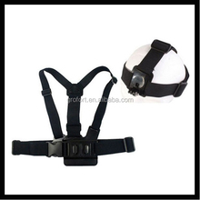 A model chest band with B model head band for GoPro Hero 4/3+/3/2/1 GP59