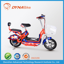2015 DYNABike brand 350w Chinese adult electric motorcycle with two seats