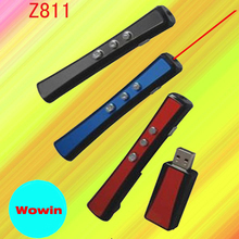 Z811Wireless presenter 360 degree remote control on up/ down page turning