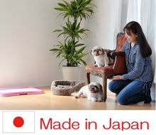 Reliable and Easy to use pet travel cage pet diaper with multiple functions made in Japan