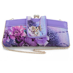 Customize flower evening handbag 4001
