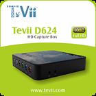 Novo produto jogo hd captura de vídeo para XBOX / PS4HDMI 1080 P PC & Standalone com e microfone grabber caixa