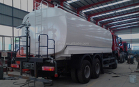 2015 Sinotruk HOWO 10 wheeler oil tank truck 6x4 20000L 6x4 fuel delivery tanker truck for sale