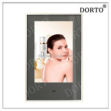 "42"" LCD mirror advertising display wall mounted"