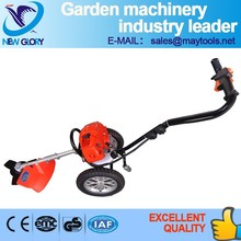 handpush petrol grass cutter with wheels