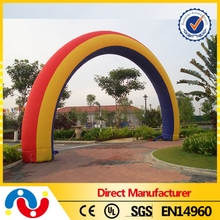Outdoor or indoor customize size inflatable archway for any show