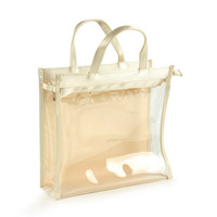 Whimsical Photo Print PVC Shopping Bags