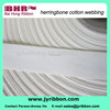 1.25 cotton webbing for garment cotton veaving band use for garment shoes bag