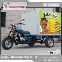 wholesale advertising trike motorcycle with cabin