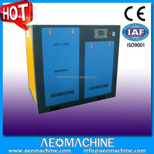 Industrial Electric Rotary Heavy Duty Direct Air Compressor Special For Rice Machine