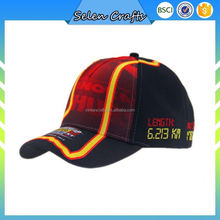 Logo Printed Racing Baseball Caps Embroidered Man Baseball Cap For Adult
