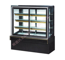Bakery equipment cake display cabinet marble base with light 3-10 degree