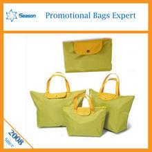 Factory price nylon sport bag ,folding nylon tote bag