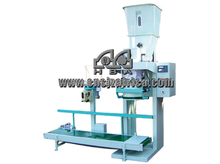Labor saving packing machine for grain and flour