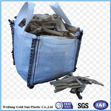 big bag for firewood,5:1 Safety Factor and Top Full Open Top Option (Filling) 1000kg sand pp jumbo bag