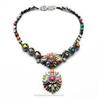 Fashion Handcraft Colorful Acrylic Gemestone Jewelry Wholesale Thailand