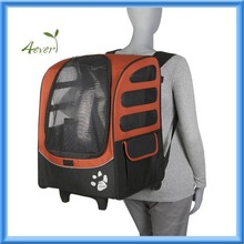 Traveler Rolling Backpack Carrier for Cats and Dogs