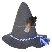 Celebrate Oktoberfest with German Style Felt Oktoberfest Hat HT 8071