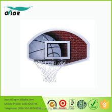 Good price best quality kids basketball backboard on the wall with 45cm black rim