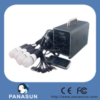 Home Application and Mini Specification small solar lighting kits with 10w solar panel