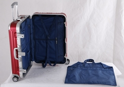25 inch Red Eminent Trolley Luggage