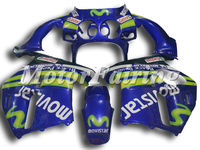 Motorcycle Fairing Kits For HONDA CBR250RR KIT MC19 1988 1989 88 89 mc19 fairings bodykit movistar blue green cheap price