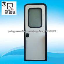 porta do frame da liga de alumínio da caravana