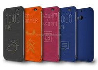 Matrix View Smart Dot Flip Case With Auto Sleep Wake Function Silicon Dot Cover Phone Case For HTC Desire 620/620g/820mini