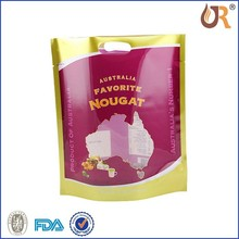 Hot selling 2015 pet food bag/ stand-up style with zipper on top