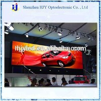 p6 indoor video led display for car show