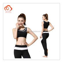 100% polyamide material yoga sport clothings