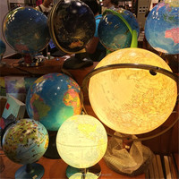 Custom roating acrylic glowing sphere, hanging globe with led