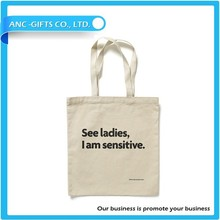 2014 Full Color Printed Hot Sale Recycled Canvas Shopping Tote Bag