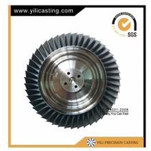 inconel casting turbine disc wheel model jet engines for sale